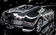Use chrome accent film to add special effects to your custom car wrap project