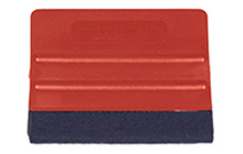 Red Pro Flex vinyl wrap application squeegee