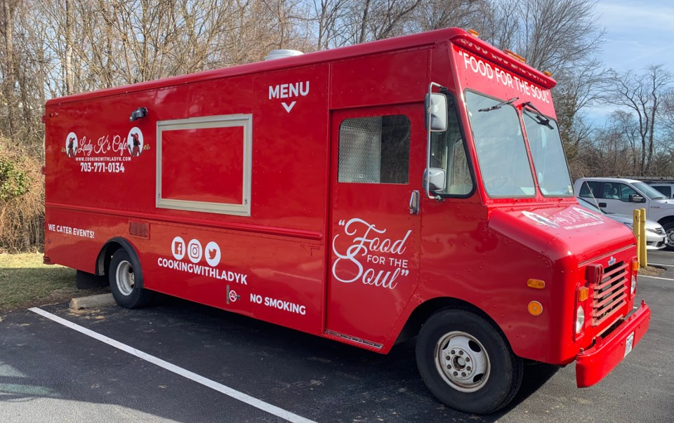 "Francois's used Carmin Red and MPI 1105 for this food truck, ""Lady K's Cafe""."