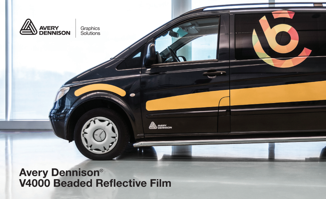graphic about Printable Reflective Vinyl named Avery Dennison Launches Refreshing Collection of Reflective Videos